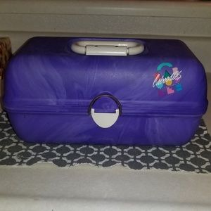 Original 80's Caboodle Carrying Case